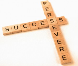 Perseverance is crucial to success